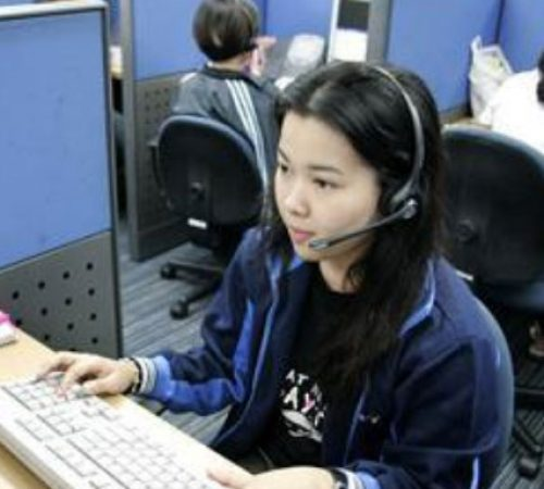 Typical work day in our Manila Contact Center